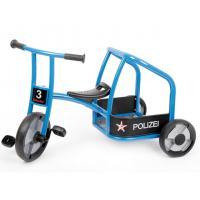 Dreirad Polizei aktiv blau-0